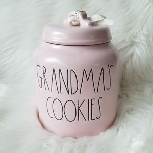 NEW Rae Dunn GRANDMA'S COOKIES Jar